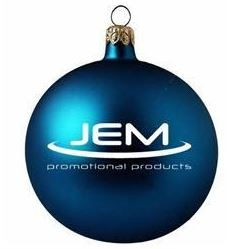 jem promotional products christmas bauble