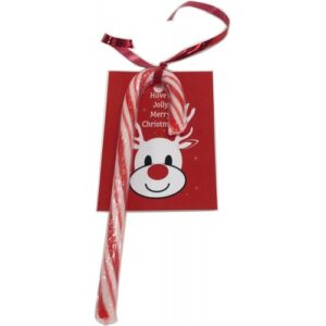 15g Candy Cane with Card & Ribbon