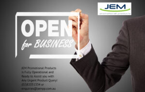 JEM Promotional Products is Open!