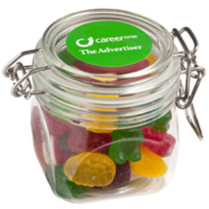 Small Canister with Christmas Mixed Lollies
