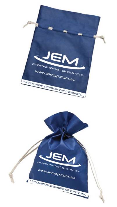 #100 Christmas Corporate Gift Idea - Reusable Tie Up Gift Bag