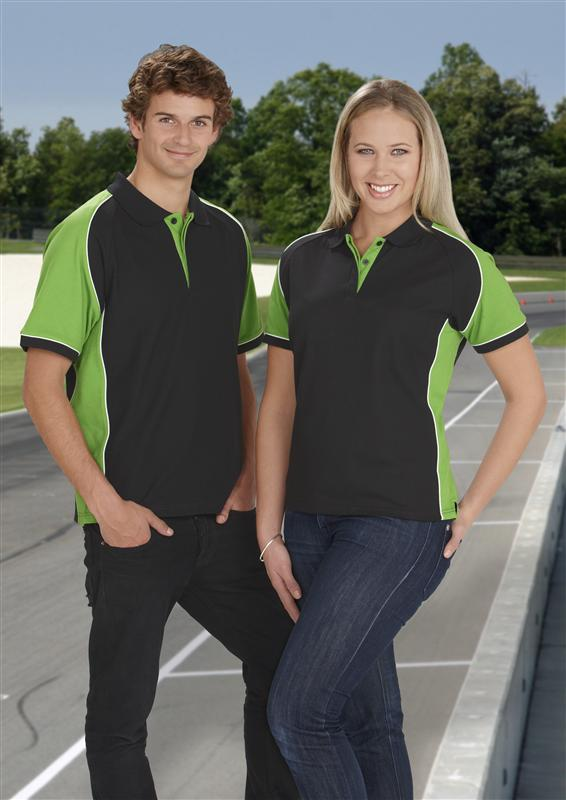 Nitro Racing Polos with concealed buttons