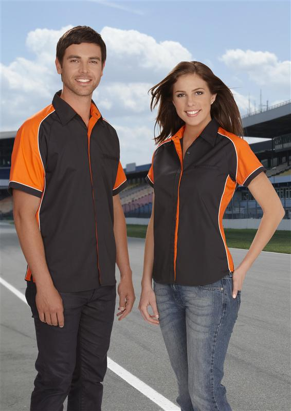Nitro Racing Shirts with concealed buttons