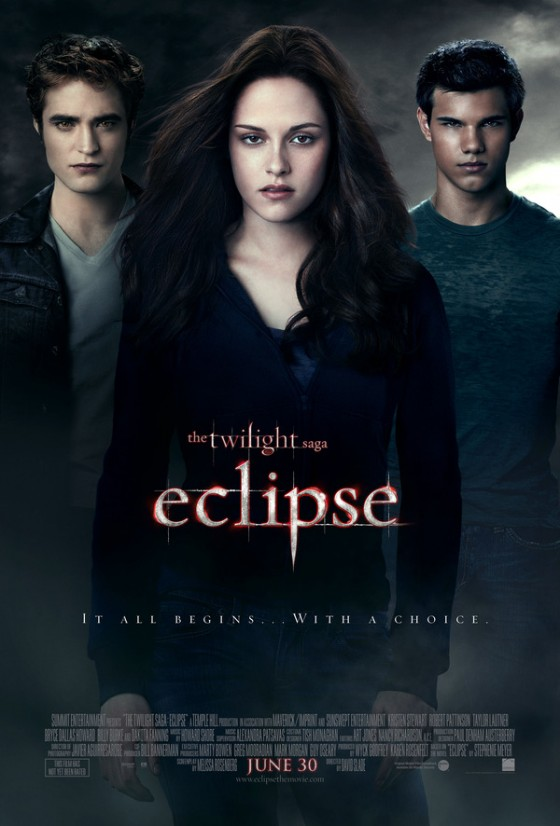 Official Eclipse Movie Poster